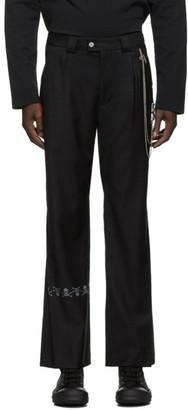 Mastermind Japan Black C2H4 Edition Streamline Tailored Trousers