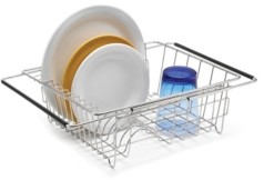 Polder Stainless Steel Sink Dish Rack