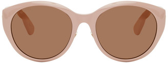 Gucci Pink Cat-Eye Sunglasses