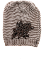 Charmed by JLM Knit Hat With Crystal