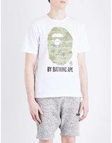 A Bathing Ape Camouflage Ape Cotton-jersey T-shirt