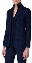 Akris Women's Check Silk & Cotton Jacket