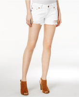 True Religion Keira Ripped Cutoff Denim Shorts