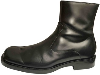 Balenciaga Black Leather Boots