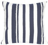 "Liora Manné Marina Stripe Throw Indoor/Outdoor Pillow Marine Blue (20""x20"")"