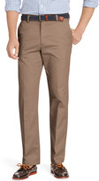 Izod Men's Heritage Chino Straight-Fit Wrinkle-Free Flat-Front Pants