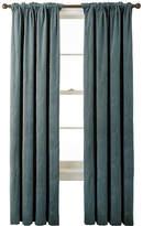 Asstd National Brand Bliss Velvet Embroidered Back-Tab Curtain Panel