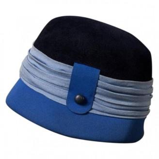 Schiaparelli Blue Wool Hats