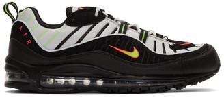 Nike Grey and Black Air Max 98 Sneakers