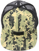 Camo The Raw Jonah Miller Trucker Cap in Marpat Woodland
