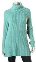 Lauren Ralph Lauren LRL Womens Ribbed Knit Raglan Sleeves Turtleneck Sweater