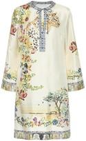 Etro Floral silk-blend dress