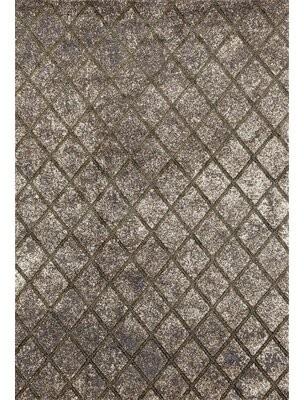 "Bronx Dossantos Stain Resistant Gray Indoor/Outdoor Area Rug Ivy Rug Size: 5'2"" x 7'2"""