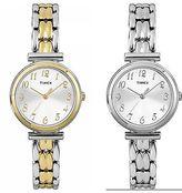 Timex Women's Audrey Avenue | Silver-Tone Dial | Dress Fashion Quartz Watch