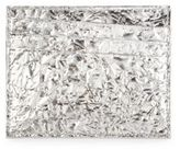 Maison Margiela Wrinkled-Effect Calfskin Card Case