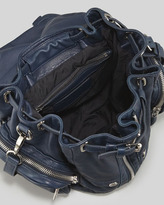 Alexander Wang Marti Zippered Backpack, Navy
