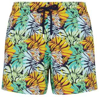 Vilebrequin Leaf Print Swim Shorts