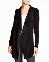 Theory Trincy E Evian Stretch Wool Cardigan