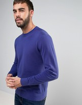 Ps By Paul Smith Crew Knit Jumper In Blue