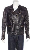 Juun.J Juun J. Lambskin Biker Jacket