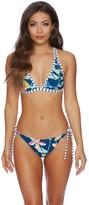 Splendid Tropical Traveler Halter Bikini Top