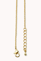 Forever 21 S Initial Charm Necklace
