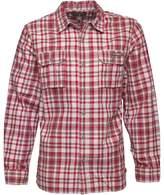 Converse Mens Cargo Pocket Checked Long Sleeve Shirt Chilli Pepper