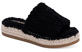 Dolce Vita Women's Karlee Slip On Espadrille Sandals