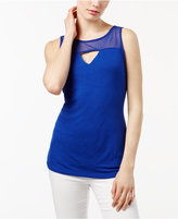INC International Concepts Keyhole Illusion Top, Only at Macy's