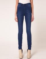 Just Female High Waist Skinny Jeans