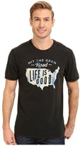 Life is Good Home Slice Top Notch Tee