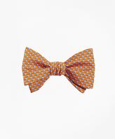Brooks Brothers Sailboat Print Bow Tie