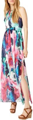 Damsel in a Dress Amazon Print Maxi Dress, Multi