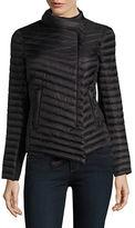 MICHAEL Michael Kors Asymmetrical Quilted Packable Coat