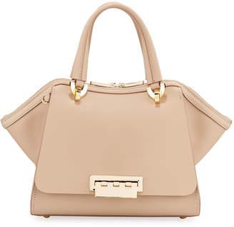 Zac Posen Eartha Small Leather Top-Handle Satchel Bag