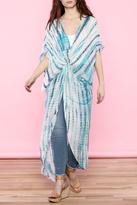 Ark & Co Tie-Dye Wrap Dress
