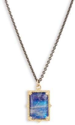 Armenta Old World Lapis & Moonstone Pendant Necklace