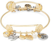 RJ Graziano K Initial Charm Bracelet