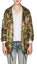 R 13 Women's Camouflage Ripstop Coach Jacket