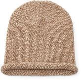 Polo Ralph Lauren Knit Cashmere Rolled-Brim Cap