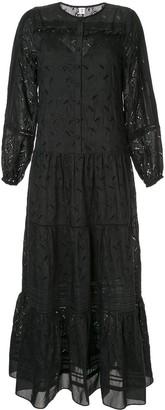 Elodie K long sleeved maxi dress
