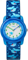 Timex Boys Blue Strap Watch-Tw7c135009j