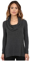 Michael Stars Super Soft Madison Jersey Cowl Neck Tunic