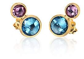 Marco Bicego Women's Jaipur Topaz, Amethyst & 18K Yellow Gold Ear Climbers