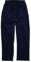 Derek Rose Nelson 59 Navy Men'S Trouser