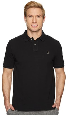 Polo Ralph Lauren Classic Fit Mesh Polo (White) Men's Clothing