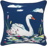 Cath Kidston Park Wildlife Swan Cushion
