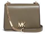 Michael Kors 'Mott' large curb chain leather shoulder bag