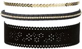 Charlotte Russe Plus Size Embellished Choker Necklaces - 3 Pack