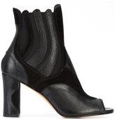 Derek Lam peep toe ankle boots